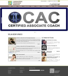 The website 'www.labpsibarcelos.com' courtesy of @Pinstamatic (http://pinstamatic.com)
