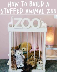 1000 ideas about stuffed animal zoo on pinterest stuff animal storage toy storage and. Black Bedroom Furniture Sets. Home Design Ideas