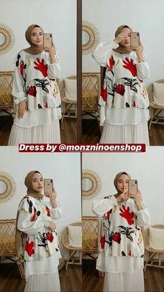 Ootd Hijab, Hijab Outfit, Dress Designs, Korean Outfits, Hijab Fashion, Highlight, Designer Dresses, Dan, Online Shopping