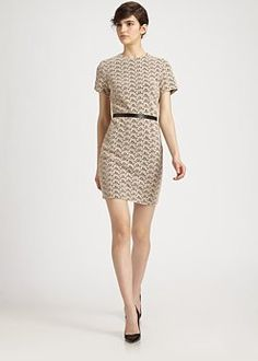 Diane von Furstenberg - Cindy Acorn Belted Dress