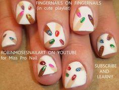 Fingernails on Fingernails #nailart