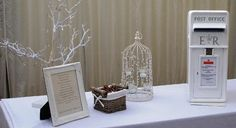 Vintage Gift Table Display