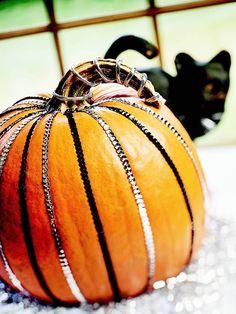 Sequin-Striped Pumpkin