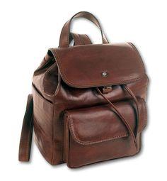 Borse a zaino Leather Backpack, Backpacks, Fashion, Moda, Leather Backpacks, Fashion Styles, Backpack, Fashion Illustrations, Backpacker
