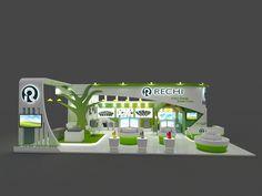 Acrex 2017 by krishn kumar Rana at Coroflot.com Exhibition Booth, New Job, Exhibitions, Design