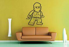 Ninjago  Lego  Wall Decal by WallsOfText on Etsy, $19.95