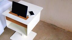 Bedside table by Spell http://www.spell-online.com