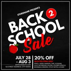back to school ads, back to school discounts, back to school deals, back to school sale retail ad, school flyers. Atkins Diet Recipes Phase 1, Back To School Deals, Sticky Notes, Flyer Template, Flyers, Black Friday, Retail, Ads, Templates