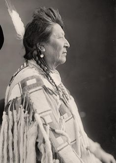 Crow Indian: No name. It was taken between 1905 and 1945 by Harris & Ewing.