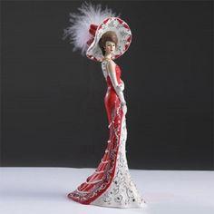 Lady True North - Crystal Elegance of Canada Swarovski Figurine - Bradford