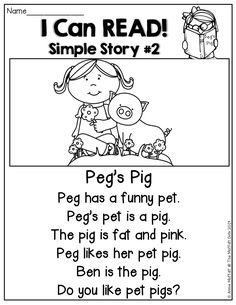 check this out, perhaps this is something we can ask sharita to get for us. I Can READ! Simple stories with basic sight words and CVC words! TONS of helpful resources for BEGINNING and/or STRUGGLING readers! Phonics Reading, Kindergarten Reading, Reading Activities, Teaching Reading, Reading Comprehension, Guided Reading, Basic Sight Words, Cvc Words, Reading Strategies