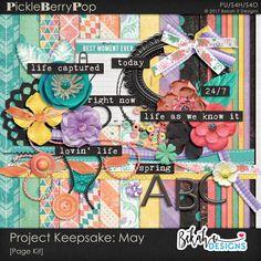 Project Keepsake: May By Bekah E Designs