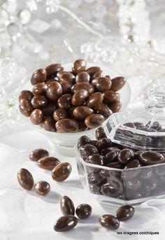 confiserie dragées chocolat pour garnir les boites