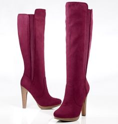 """For the Trendsetter: Forever Selected by Paula Abdul Modern Opulence Heeled Boot. """"I'm in love with luxe. These rich details and exotic textures add instant glamour to any outfit."""" - Paula Abdul, Avon Celebrity Spokesperson #AvonHoliday #GiftGuide #Fabin5"""