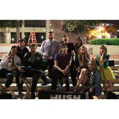 The cast #scream