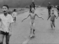 'Napalm Girl' in AP Photo Undergoes Treatment - YouTube 3:14 Pubt Oct 25, 2015 | ... ... In the photograph that made Kim Phuc a living symbol of the Vietnam War, the 9-year-old runs toward the camera, napalm melting her skin. More than 40 years later she has a new chance to heal, and by her side, the man who took the iconic photo.