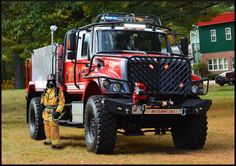 wildland fire truck bulldog extreme 4x4