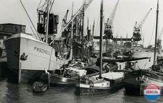 Haven Delfzijl (jaartal: 1950 tot 1960) - Foto's SERC