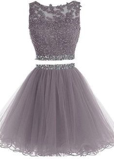 Two Pieces Beaded Tulle Party Prom Dresses 2018 new style custom made fashion evening gowns Custom Evening Dress, 2019 Prom Dresses, Prom Dresses Two Piece, Prom Dress Prom Dresses 2019 Prom Girl Dresses, Prom Dresses 2018, Prom Party Dresses, Dresses For Teens, Evening Dresses, Dress Prom, Formal Dresses, Grad Dresses Short, Quinceanera Dresses
