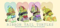 Love is life Donnie and Raph faces! Ninja Turtles Art, Teenage Mutant Ninja Turtles, Tsundere, Tmnt Comics, Tmnt 2012, Cartoon Crossovers, Fan Art, Lego City, Cartoons