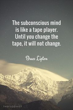 Our subconscious mind is on autopilot. The conscious mind may hold oneself in high regard but the more powerful subconscious mind may simultaneously engage in self-destructive behavior. Most of our behaviors (95-99%) are controlled by the subconscious min