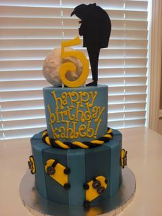 Despicable Me birthday cake!