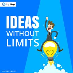 At LogoVerge All Your Ideas Can Come True Within Minutes. #LogoVerge #FreeLogoDesigning #BringYourIdeasToLife