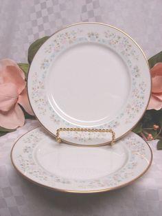 Lenox China Dinnerware Bouquet Collection Daisy Basket set 3 Salad Plate #Lenox #Lenox