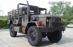 """Ready to give other off-road vehicles an inferiority complex? A bobbed """"deuce and a half"""" from Big Bug Out Trucks is faster, and you can add. Cool Trucks, Cool Cars, Dump Trucks, Dodge Trucks, Big Trucks, 6x6 Truck, Bug Out Vehicle, Armored Fighting Vehicle, Army Vehicles"""