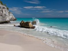 Around the World Photo Gallery: Beaches | Tulum, Mexico, was once part of a large group of Mayan structures. Away.com  #AwayTravel