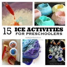15 Fun Winter Ice Activities for Preschoolers