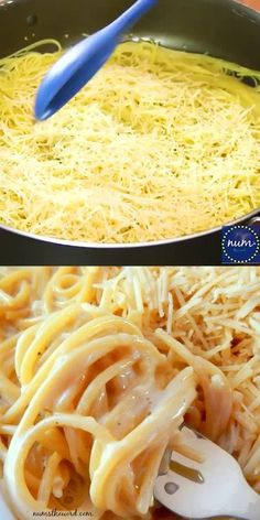 Garlic Parmesan Pasta, Creamy Garlic Pasta, Garlic Spaghetti, Easy One Pot Meals, Easy Dinner Recipes, Dinner Ideas, Easy Pasta Meals, Pasta Recipes For One, Easy Dinners For Kids