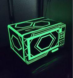 紙膠帶迷讓讓,夜光膠帶打造科技感居家風格! | 大人物