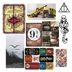 """Harry Potter Aesthetic!!❤❤"" by ayeshaghori ❤ liked on Polyvore featuring art"