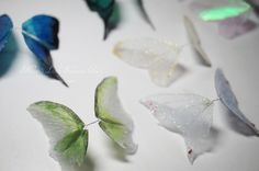 This is a tutorial for how to make fairy wings with very common materials quite easily.
