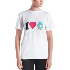 Get to know your new favorite tee - it's super smooth, super comfortable, and made from a cotton touch polyester jersey that won't fade after washing. Stretch Fabric, Fitness Models, Crown, T Shirts For Women, Knitting, Tees, Mens Tops, Cotton, Fashion