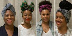 4 Fabulous Ways To Wear A Headwrap