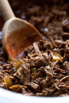 Slow cooked barbacoa...