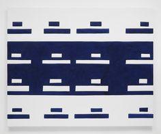 "Sadie Benning Tanks, 2014, Medite, aqua resin, casein, and acrylic, 56"" H x 69.50"" W (142.24 cm H x 176.53 cm W), Photo credit: Chris Austin"