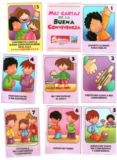 Buena convivencia / buena conducta en el salon Preschool Education, Learning Activities, Classroom Rules, Classroom Decor, Preschool Transitions, Traveling Teacher, First Day Of School Activities, Bible Lessons For Kids, Classroom Community