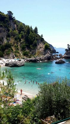 Parga, Greece, no filter, yes this exists
