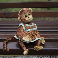 Тедди-обезьянка #тедди #обезьянка #teddy #monkey