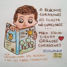 Grandes corazones... #undibujoparacadadía #69 #corazon #autismo #autism #book #librosinfantiles  #amor #illustration #design #art #scketchbook #doodle #watercolor #drawing #inktober