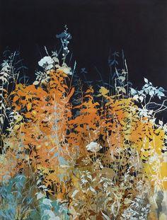 henrik simonsen/ dusk  oil and graphite on canvas 90 x 110 cm 2013
