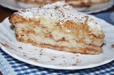 Восхитительный простой яблочный пирог с насыпным тестом
