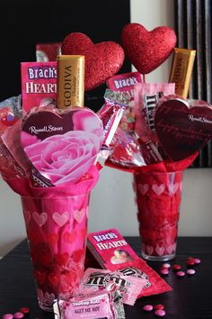 Valentine's Candy Bouquet <3