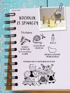 Koziołek ze spinaczy - Scenariusze zajęć i artykuły - Miesięcznik - BLIŻEJ PRZEDSZKOLA