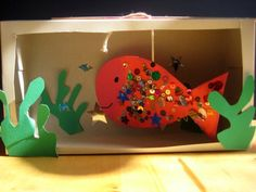 make an aquarium craft by www.nurturestore.co.uk, via Flickr