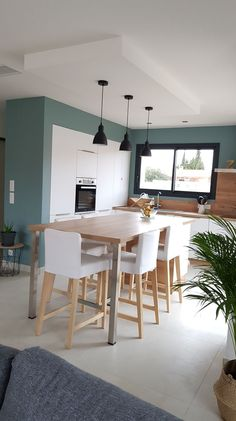 6 deco ideas for a design show - HomeCNB Kitchen Interior, Kitchen Decor, Küchen Design, Interior Design, Kitchen Remodel, Sweet Home, New Homes, Room Decor, Living Room