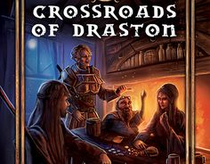 "Check out new work on my @Behance portfolio: ""Crossroads of Draston: Fantasy…"